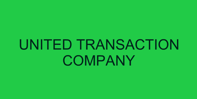 United Transaction Company (денежный перевод)