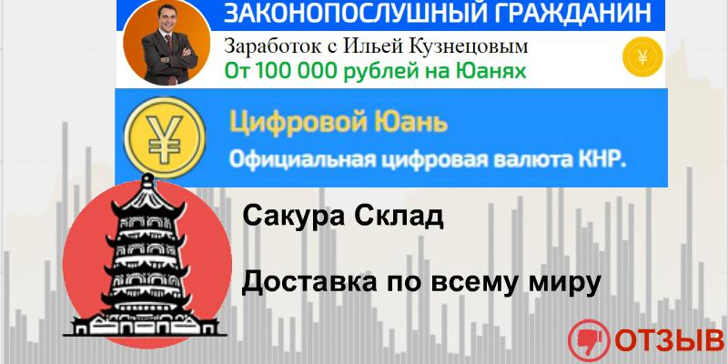 Сакура Склад, Цифровой Юань и блог Ильи Кузнецова «Законопослушный Гражданин»  — обзор и объяснение